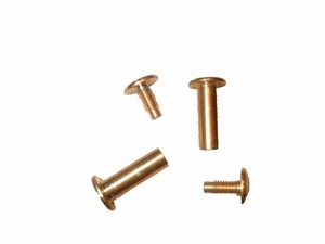 Bookbinding screws