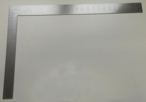 Steel Square 60 x 40 cm