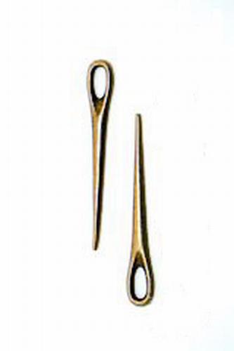 Closure pin bronze colored