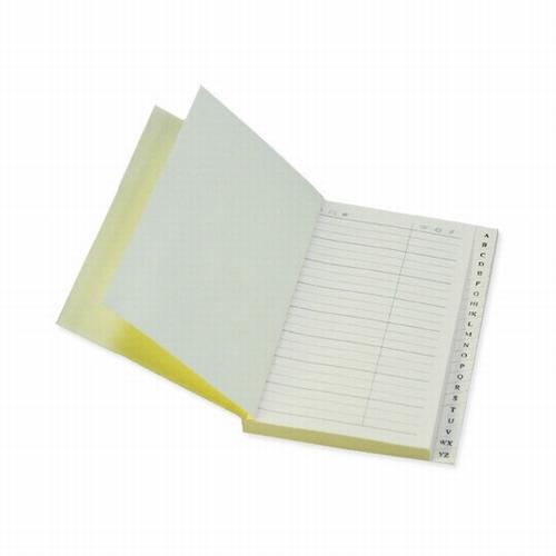 Adress book pocket - ivory paper