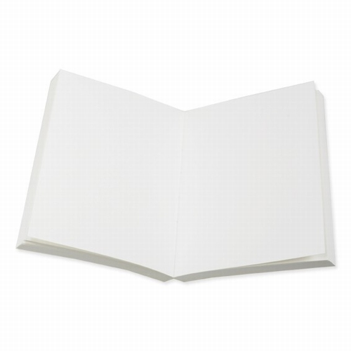 Boekblok blanco - cremekleurig - gerecycled