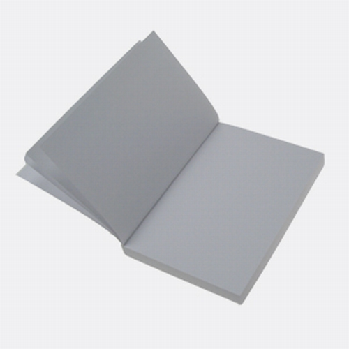 Buchblock blanko - weißfarbig