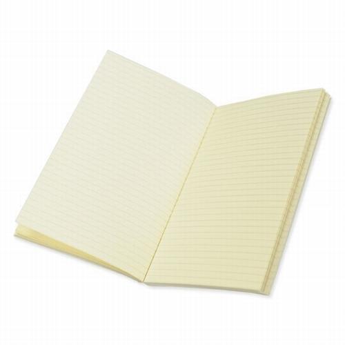 Boekblok gelinieerd - cremekleurig
