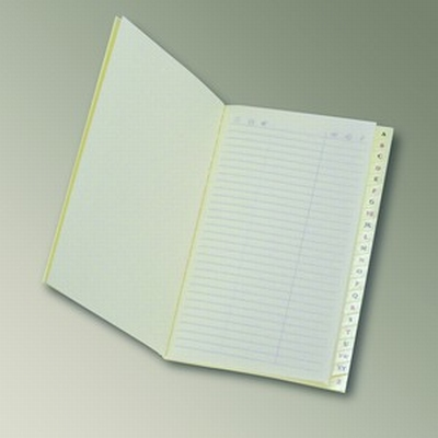 Adress book pocket size - ivory paper