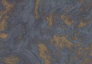 Marmorata blu-oro