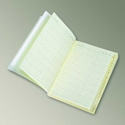 Address book - ivory paper