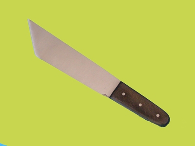 Leather-Paring Knife with rigid blade  21 cm