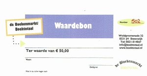 Waardebon van € 50,00