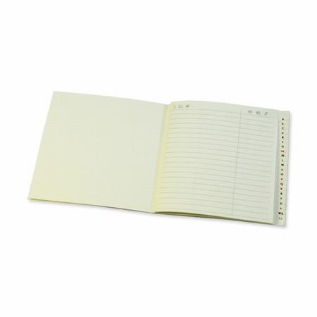 Adresboekje - cremekleurig