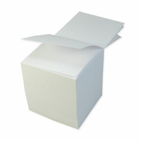 Schreibblock weiß