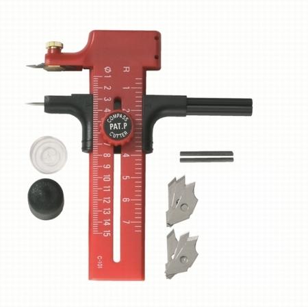 Compass Cutter - scaling from 10 – 150 mm Ø