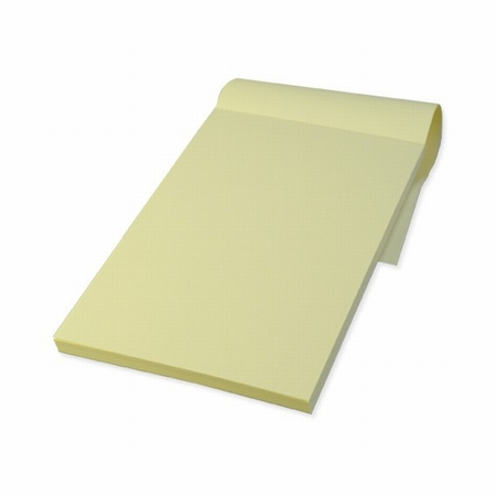 Paper pad- ivory paper
