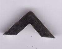 Metalen hoekje M.L.