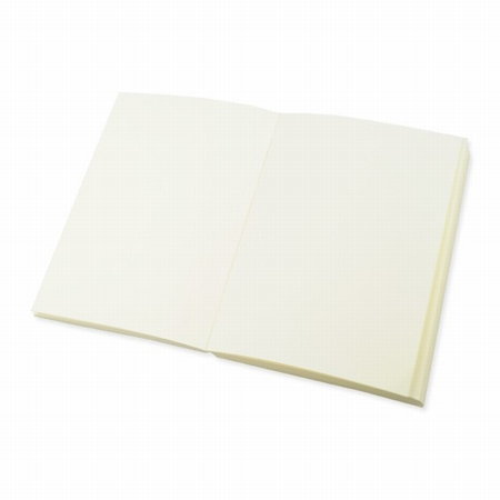 Buchblock blanko - cremefarbig