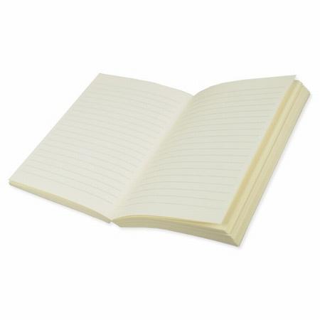 Buchblock linierd - cremefarbig