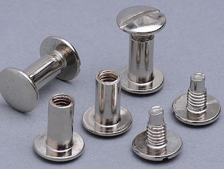 Bookbinding screws